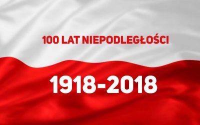 Akademia z okazji  100 rocznicy  odzyskania NIEPODLEGŁOŚCI przez POLSKĘ